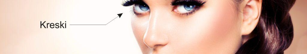 Makijaż permanentny kresek